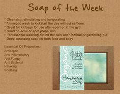 Soap of the week: Artisan Handmade Lavender and Tea Tree http://www.littlesoapcompany.co.uk/product/english-lavender-tea-tree/