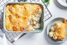 Einfacher Blumenkohlauflauf von Nicky0110 | Chefkoch Fall Recipes, Healthy Recipes, Lasagna, Macaroni And Cheese, Toast, Low Carb, Vegetarian, Vegan, Breakfast