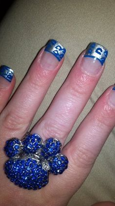 Uk leopard print nails :)
