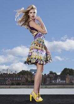 Ossie Clark's new collection. Coming soon!