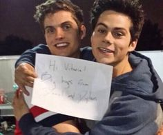 dylan o'brien and daniel Sharmen