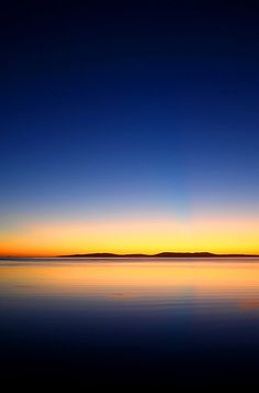 Sunrise, sunset - who cares when the colours are THIS good?! Dawn over Boston Bay. Port Lincoln, South Australia.