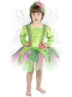 Disfraz de Xana de los bosques para niña | Comprar