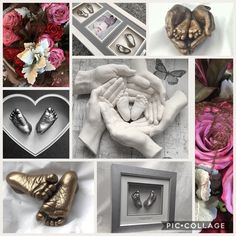 gesso Mothers Day personalised gifts in Herts - grandchildren's pair of feet casts for your mum and dad or what if dad can surprise mum :) dedicate 1 day fro Mum! Baby Handprint Crafts, Cool Gifts, Diy Gifts, Plaster Hands, Baby Cast, Baby Mold, Belly Casting, Casting Kit, Hand Molding