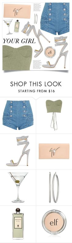 """Drink Me"" by marina-volaric ❤ liked on Polyvore featuring Pierre Balmain, Off-White, Giuseppe Zanotti, Nordstrom, GUESS and Serge Lutens"