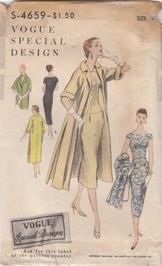 Vogue S-4659 Dress & Coat
