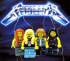 Check out this collection of LEGO minifigs made to look like rock bands and musicians. They were done by former music critic Adly Syairi Ramly. He included many of his favorite legendary rock bands like Guns N Roses, The Beatles, Led Zepplin, Jimi Hendrix, and more.