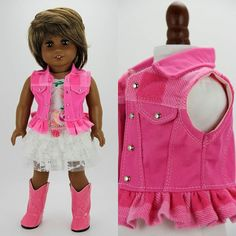 - Little girls - Dolly Dolls Ag Doll Clothes, Doll Clothes Patterns, Doll Patterns, Clothing Patterns, American Girl Accessories, American Girl Clothes, American Dolls, Dolly Doll, Girl Dolls