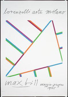 Max Bill Max Bill, Morris Louis, Laszlo Moholy Nagy, Swiss Design, Whimsical Art, Color Theory, Art Music, Pattern Art, Book Design