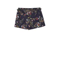 Short estampado floral - Shorts | Stradivarius España Printed Shorts, Ukraine, Casual Shorts, Trunks, Floral Prints, Trousers, Swimwear, Women, Vestidos
