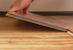 Laminate floors have the same great look as hardwood floors. The following step-by-step instructions will show you how to install a floating laminate floor.
