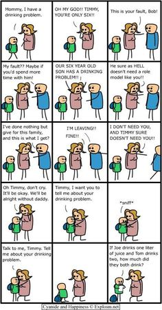 A Complicated Drinking Problem