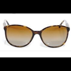 Authentic Chanel Polarized Sunglasses Mint condition authentic Chanel stud polarized sunglasses in tortoise. Worn once! CHANEL Accessories Sunglasses