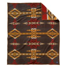 Add a touch of history to your home with this Gatekeeper blanket from Pendleton. Part of the Heritage collection, it is an original Pendleton design from 1935 and features the eight-point star, bel...