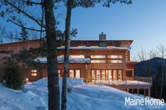 BGD interior design project featured on cover of Maine HOME + Design