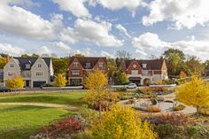 Chigwell Village is a haven of tranquillity in the heart of Chigwell. Open Plan Kitchen, Colours, Autumn, Mansions, Landscape, Park, House Styles, Fall, Luxury Houses