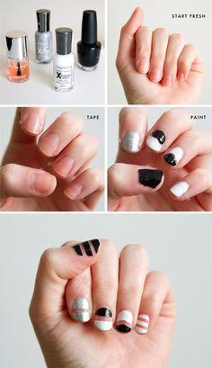 Alexander Wang Inspired Nails