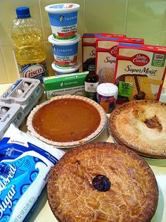 Cherpumple: http://eatingoutpartv.blogspot.com/2011/09/how-to-make-cherpumple-successfully.html