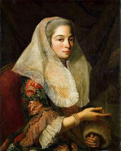 Une jeune femme maltaise (Portrait of a Young Maltese Lady), circa 1750s.