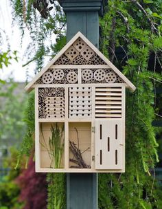 Habitat Hotel - a great way to attract more beneficial insects to your yard!