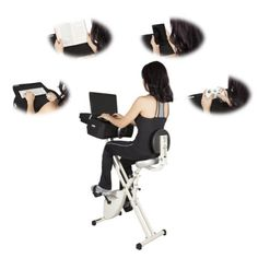 """Fit Desk X Exercise Bike Desk 