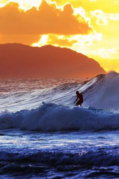 #Nice waves and nice sunset