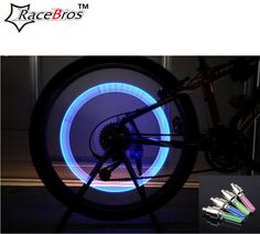2PCS Car Motorcycle Bike Bicycle Valve Light Tyre Wheel light cycling LED motion sensor Lamp for night riding cycling safety