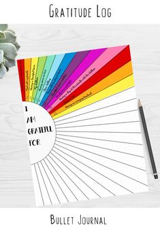 Gratitude Log Sunshine Sun Ray Bullet Journal Dotted Grid Template Printable - GRATITUDE LOG ———————— Gratitude log perfect for bullet journalling. Bullet Journal Inspo, Bullet Journal Dot Grid, Bullet Journal Printables, Bullet Journal Aesthetic, Bullet Journal Writing, Bullet Journal Themes, Bullet Journal Spread, Bullet Journal For Kids, Bullet Journal Layout Templates