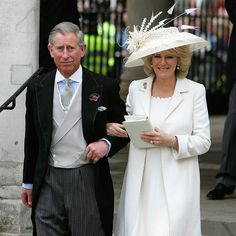 On April 9, 2005, the royals gathered at Windsor to celebrate the wedding. As crowds lined the streets, Prince Charles and Camilla married in a civil ceremony at Windsor Guildhall, Berkshire.