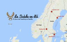 carte suede itineraire road trip Road Trip France, Road Trip Europe, Road Trips, Voyage Suede, Reds Bbq, Back To Nature, The Good German, Grilling Gifts, Voyage Europe