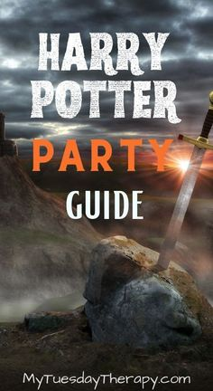 Harry Potter Party Guide. Looking for ideas for things to do with friends? Host a cool Harry Potter party!
