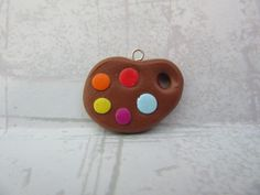 Paint Palette | RolyPoly Charms Clay Charms, Palette, Charmed, Painting, Jewelry, Jewlery, Jewerly, Painting Art, Schmuck