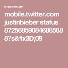 mobile.twitter.com justinbieber status 872568590846885888?s=09