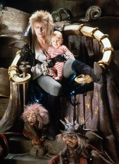 LOVE THE LABYRINTH! oh david bowie...what fright you were as a child but as an adult i <3 you ;)