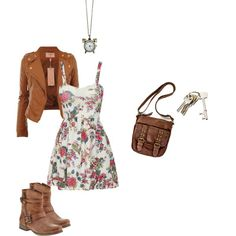 """""""Casual Dress Outfit"""" by chanbelle on Polyvore"""