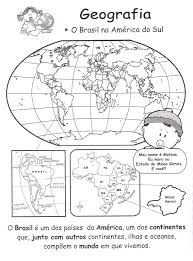 Resultado de imagem para mapas escolares do brasil para imprimir