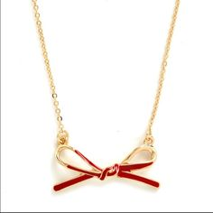 """Modcloth's """"A Dash of Darling"""" Necklace This is an adorable little necklace. Worn only once and sitting on a necklace holder the rest of the time. ModCloth Jewelry Necklaces"""