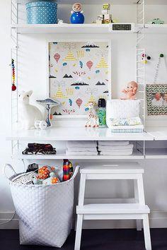 Modern Wall Shelves for Kids