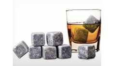 9 Pack of Whiskey Stones -- reusable, odorless, flavorless, and they won't dilute your drink! $9.99