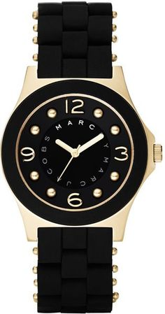 Marc By Marc Jacobs Pelly in Black | Lyst #watches #fashion