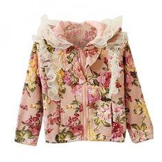 Heloísa Floral Cotton Jacket