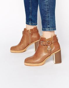 Truffle Collection Anya Strap Heeled Ankle Boots