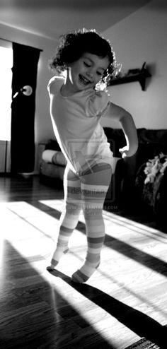Dance like no-one's watching • photo: jklreece on deviantart