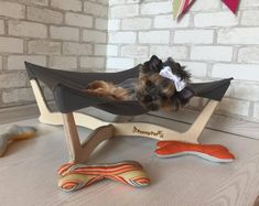 cat hammocks on etsy Puppy Beds, Pet Beds, Dog Bed, Cat Teepee, Dog Hammock, Modern Cat Furniture, Dog Furniture, Etsy, Dogs