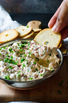 Sumac Smoked Salmon Dip! If this were our inn's recipe we'd have the inn name, a delicious description, and a link back to our inn's homepage!