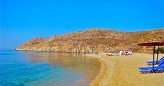 #mykonos #beaches - #Agrari  #delostours.gr