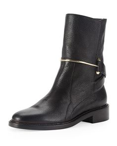 Metal-Bit+Ankle+Boot+by+Balenciaga+at+Bergdorf+Goodman.