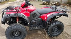 Terrain 500 farm quad. ATV and farm quad bikes from Quadzilla for smallholder farmers. 4WD system ideal for towing ATV trailers, paddock cleaners, paddock toppers, flail mowers, chain harrows. For more info: http://www.fresh-group.com/quad-bike.html