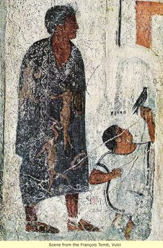 Etruscan Tomb Paintings: Ancient Man and His First Civilizations