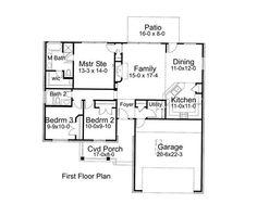 Main Floor Plan DW1356